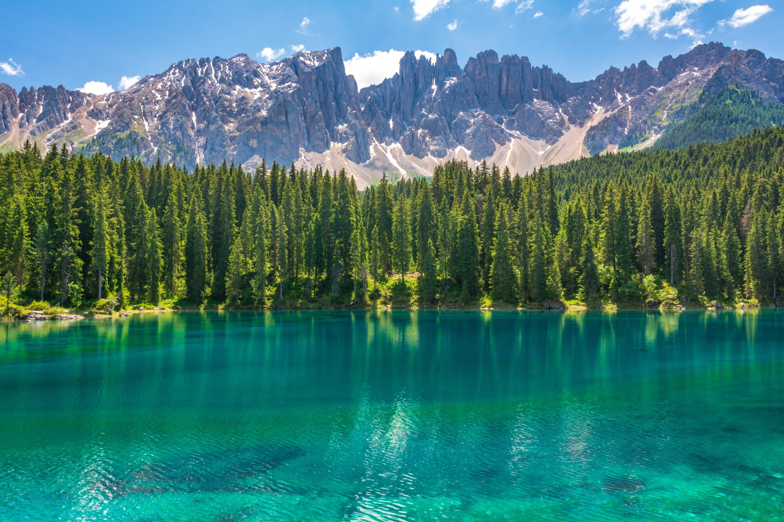 Climate Action Gateway header image of lake, trees and mountains